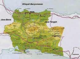 Peta Purbalingga