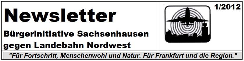 BI Sachsenhausen Newsletter 1-2012