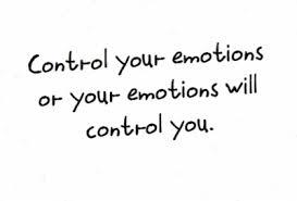 Jiwa tenang jika pandai kawal emosi