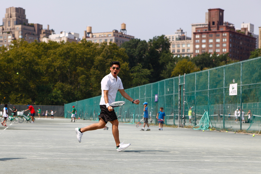Levitate Style - Lacoste Session | Tennis at Central Park with Daniel Wellington and Adidas Stan Smith, menswear