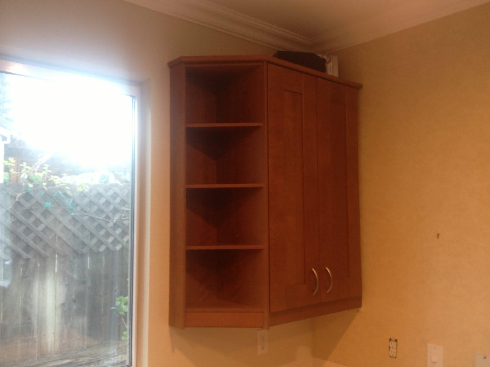 Kitchen CabiEnd Shelves