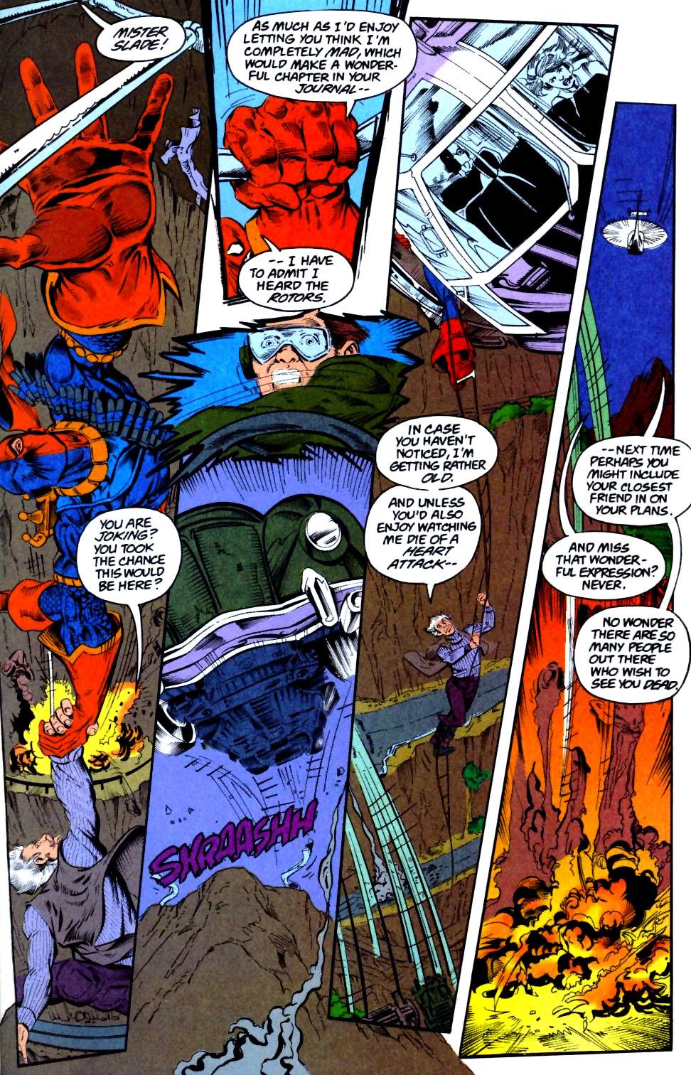 Deathstroke (1991) Issue #28 #33 - English 9