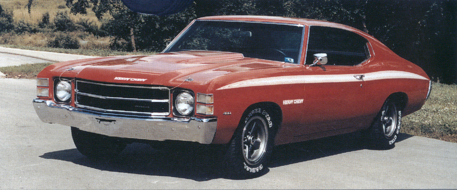 1972 heavy chevy chevelle