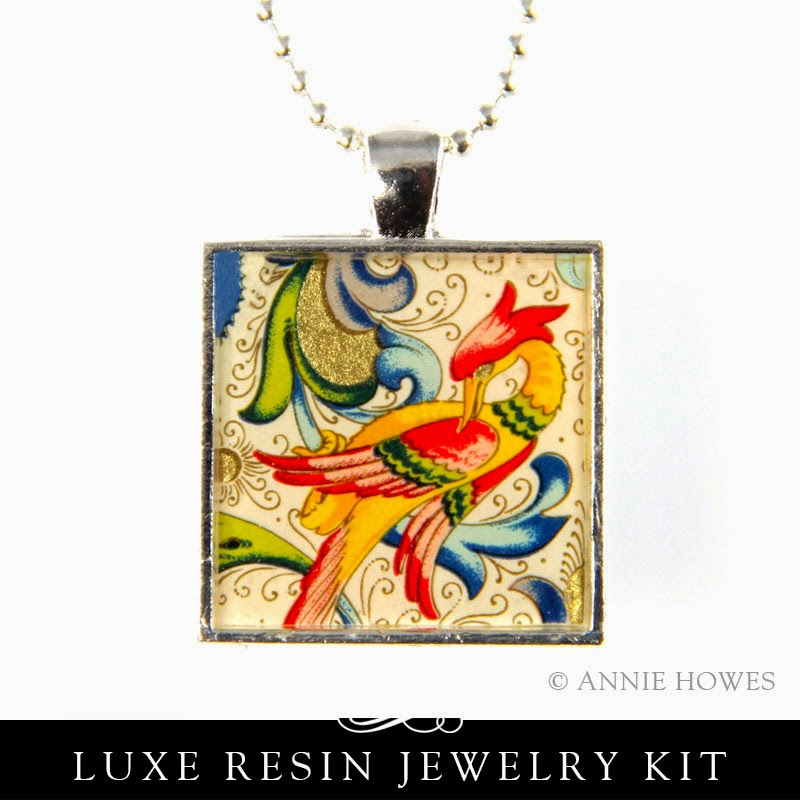 Luxe Resin Pendant Tutorial