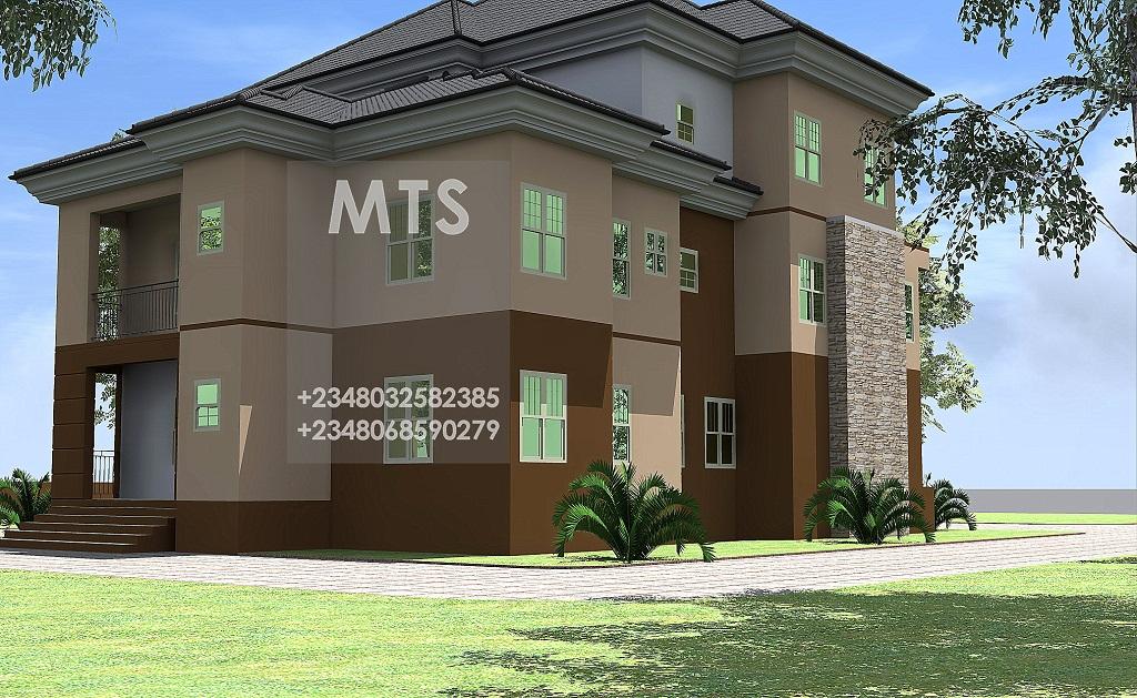 7 bedroom duplex for 4 bedroom duplex designs in nigeria