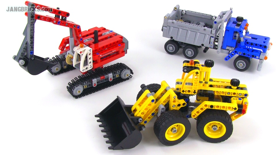 Lego technic 42023 construction crew set review - Jeux de construction lego technic ...