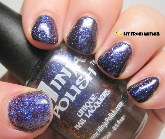 purple and blue Ninja Polish Chameleon