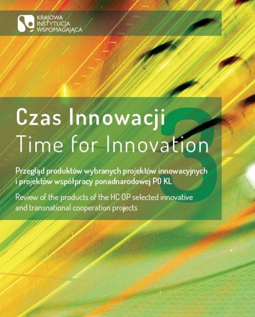 Okładka publikacji Czas Innowacji 3