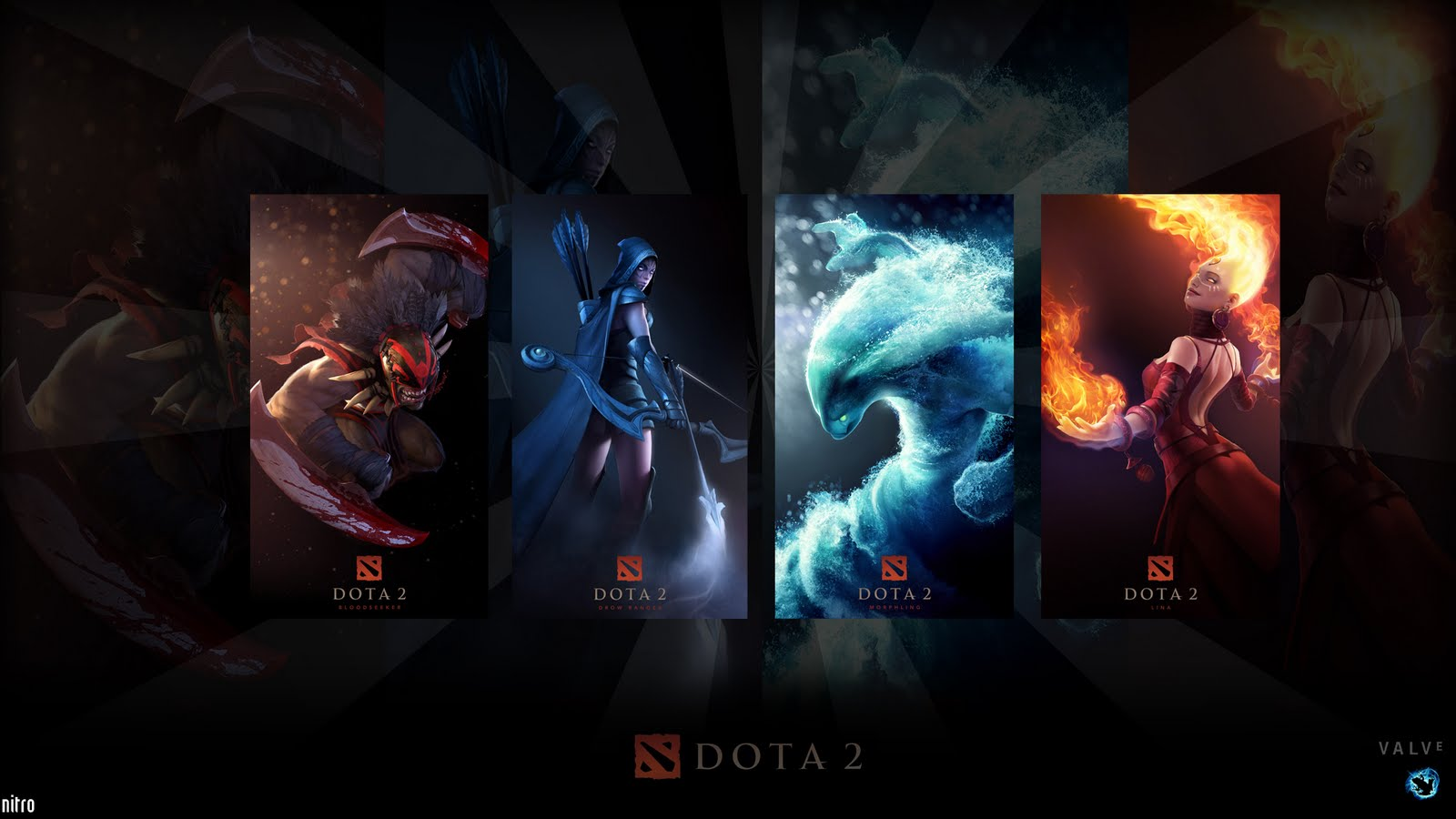 Awesome Dota 2 Desktop Background