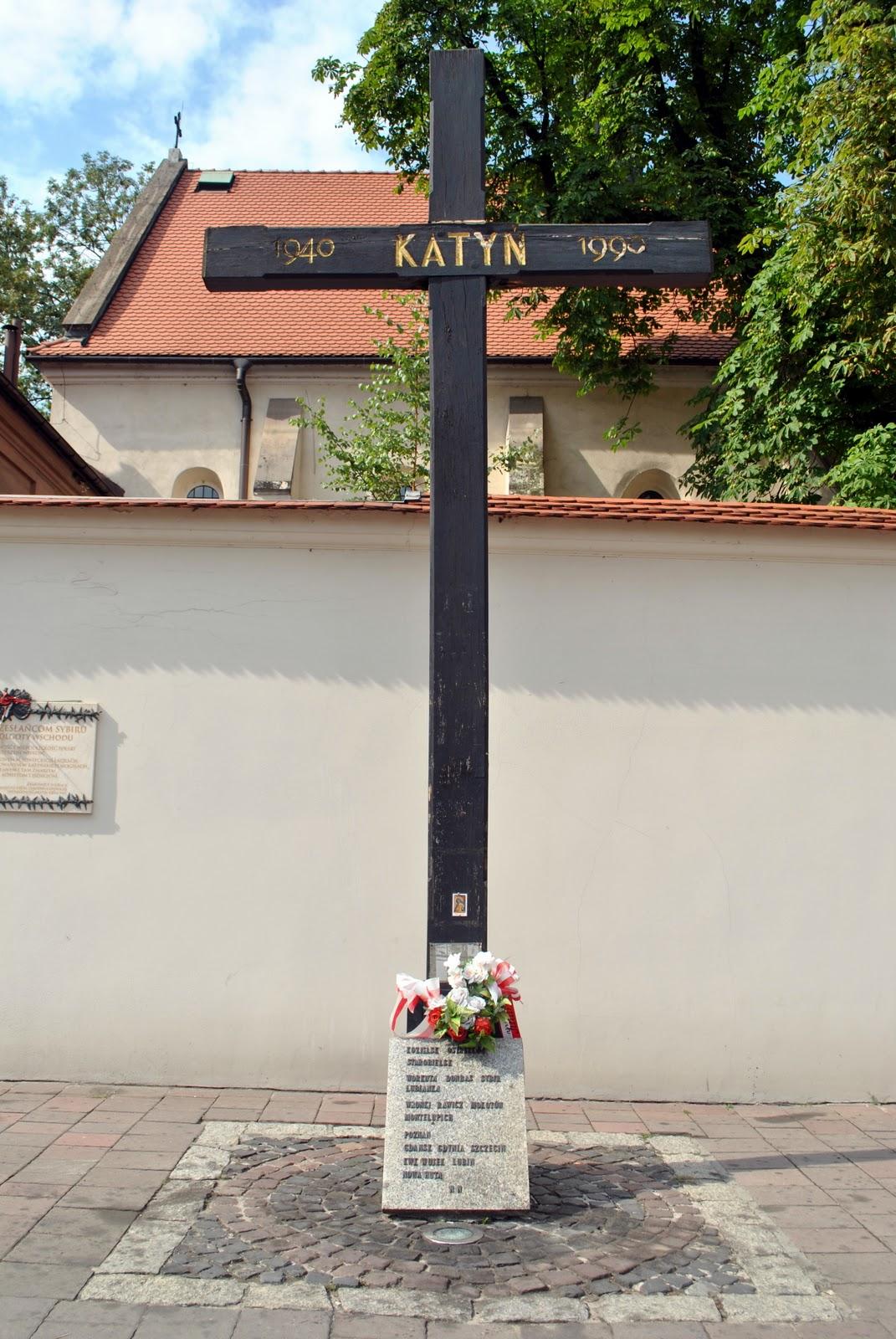 Krakow Katyn Memorial