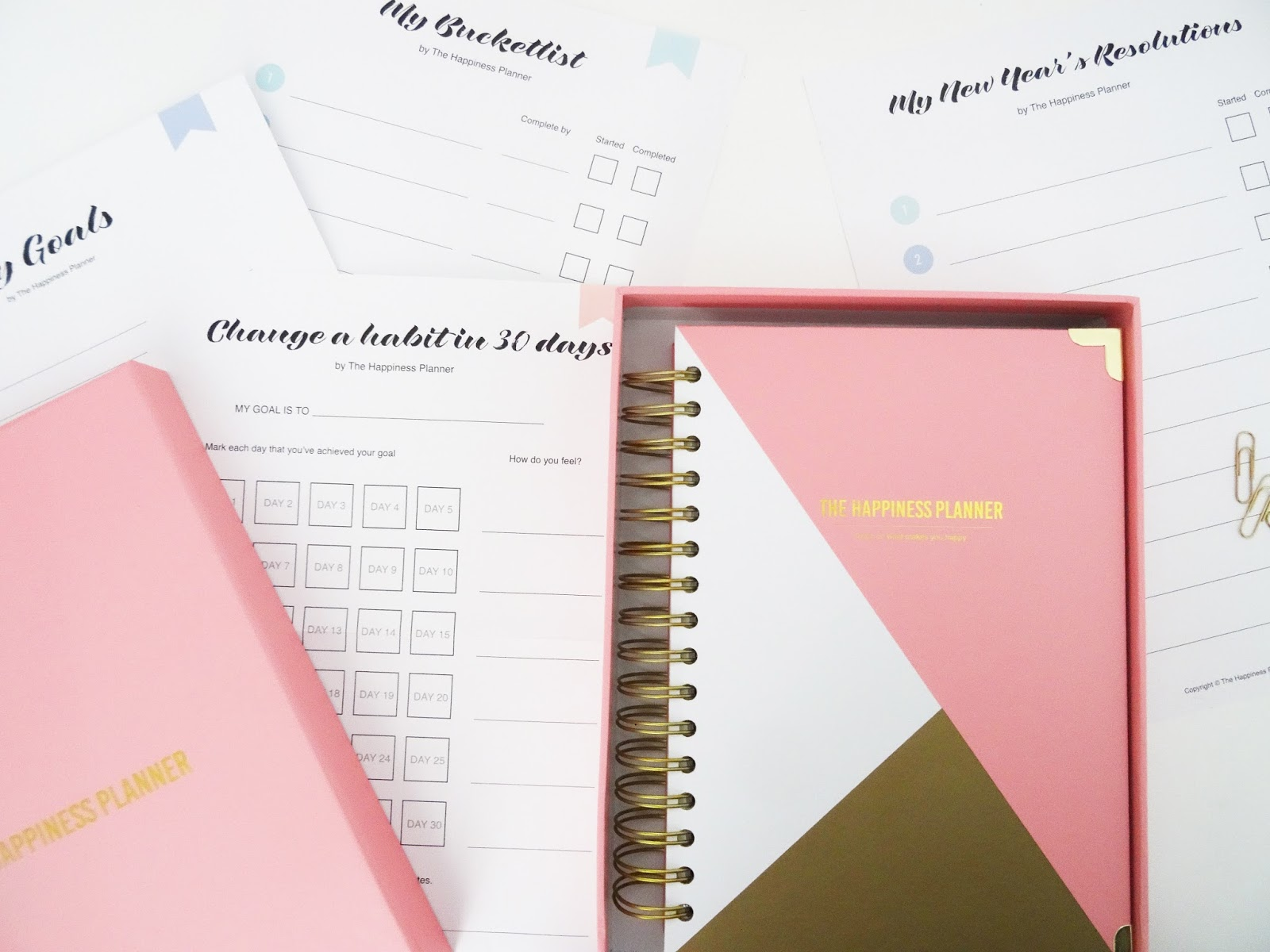 something to say fashion the happiness planner 2016