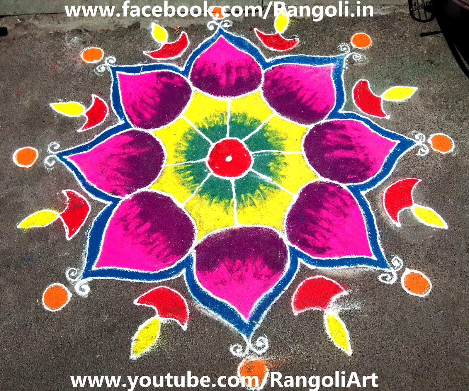 Diwali Rangoli , Kolam , Designs Images: Rangoli images of Diwali 2014