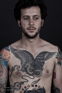 Cool Owl Tattoos On Chest Picture 4