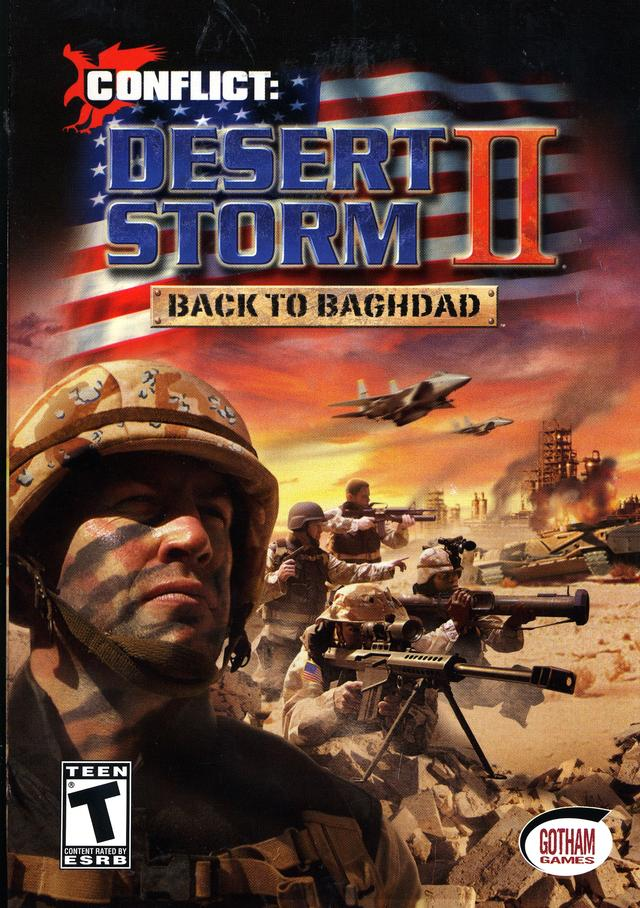 If you're really into squad-based military action games, Desert Storm