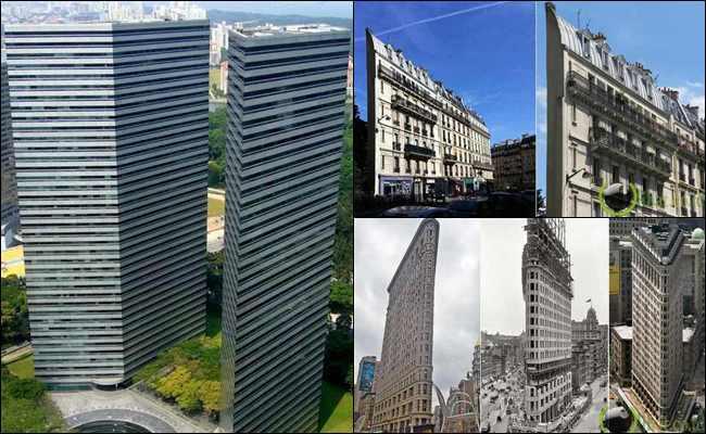 10 Gedung paling Tipis dan Tertinggi di Dunia