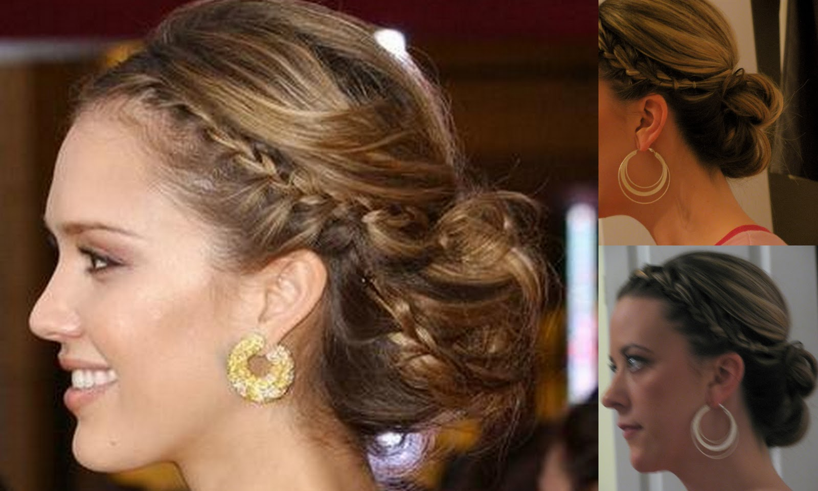 Jessica Alba Updo Hairstyles Jessica Albas 60s Updo Beta Pics