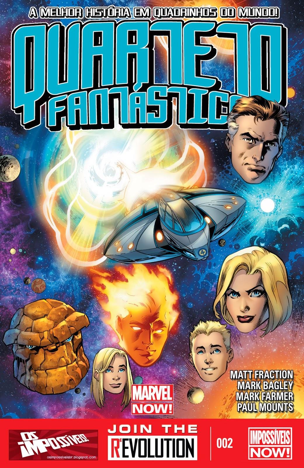 Nova Marvel! Quarteto Fantástico #2