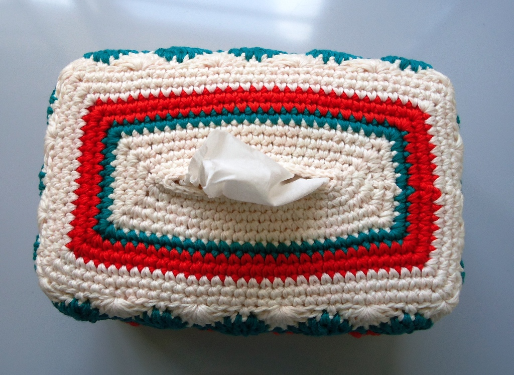 Lily: Pattern Detail - Sugar'n Cream - Tissue Box Covers (crochet)