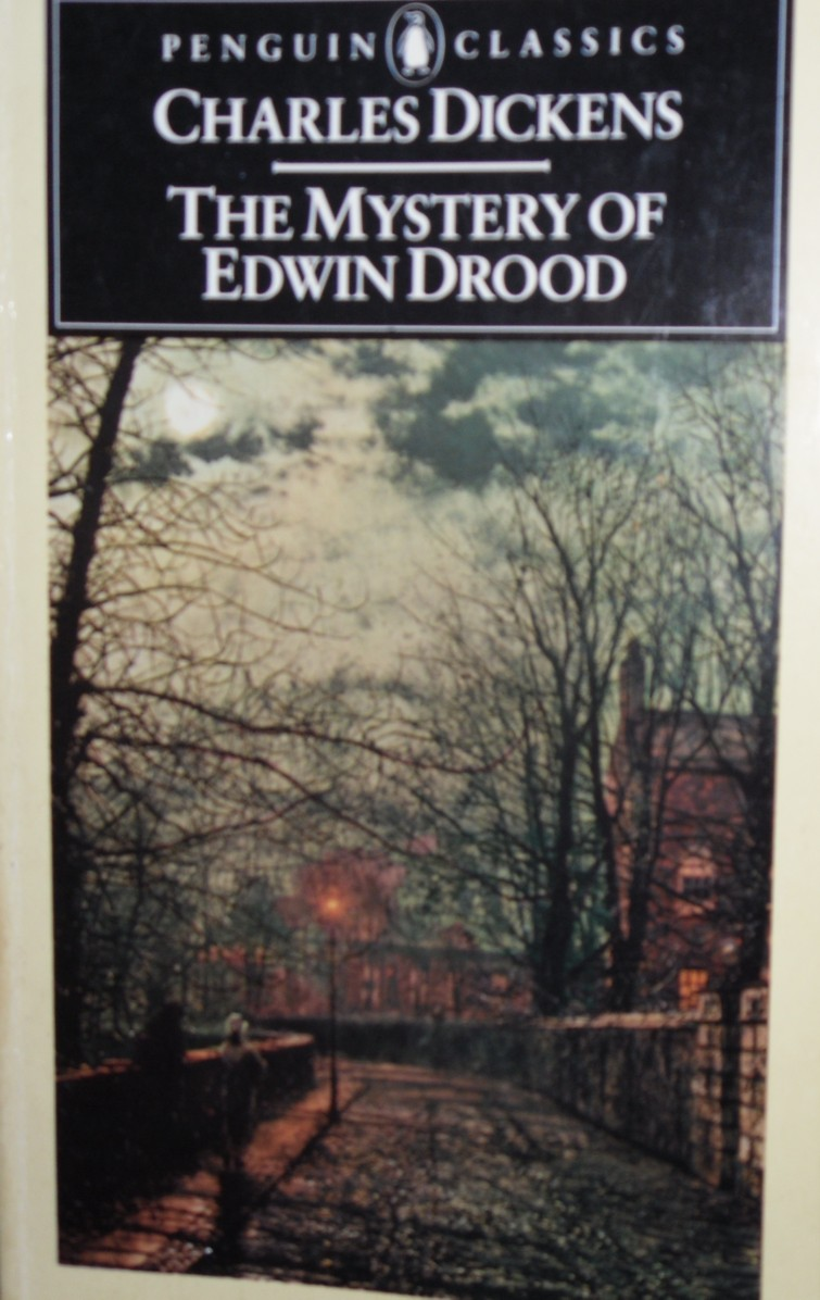 edwin drood The mystery of edwin drood: the mystery of edwin drood, unfinished novel by charles dickens, published posthumously in 1870 only 6 of the 12 projected parts had been completed by the time of dickens's death.