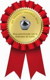MANZANA DE PLATA PARA PALABRAS AZULES