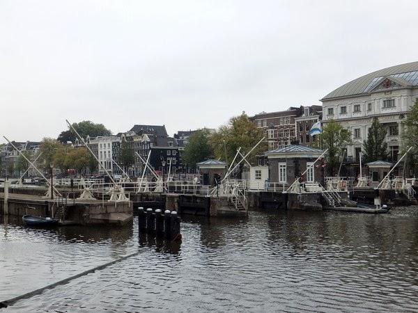 amsterdam canaux sud écluses