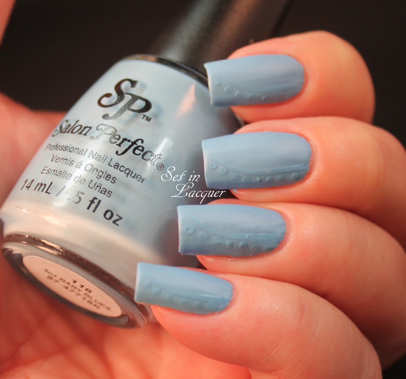 Salon Perfect Matte FX and Baby Blues