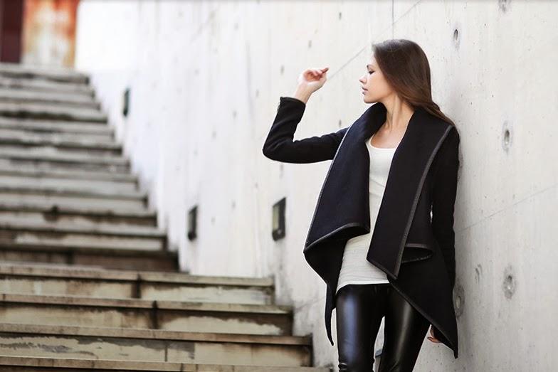 оригинальное пальто