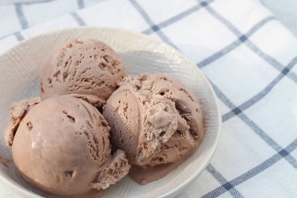 3 Ingredient No Churn Chocolate Ice Cream