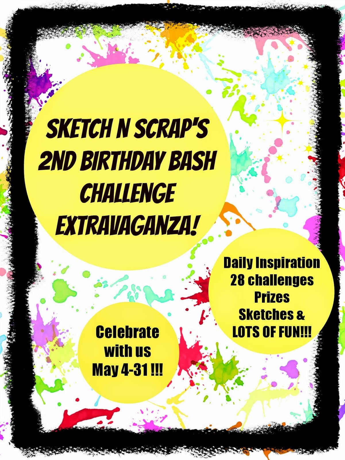 Sketch N Scrap is turning 2!!!