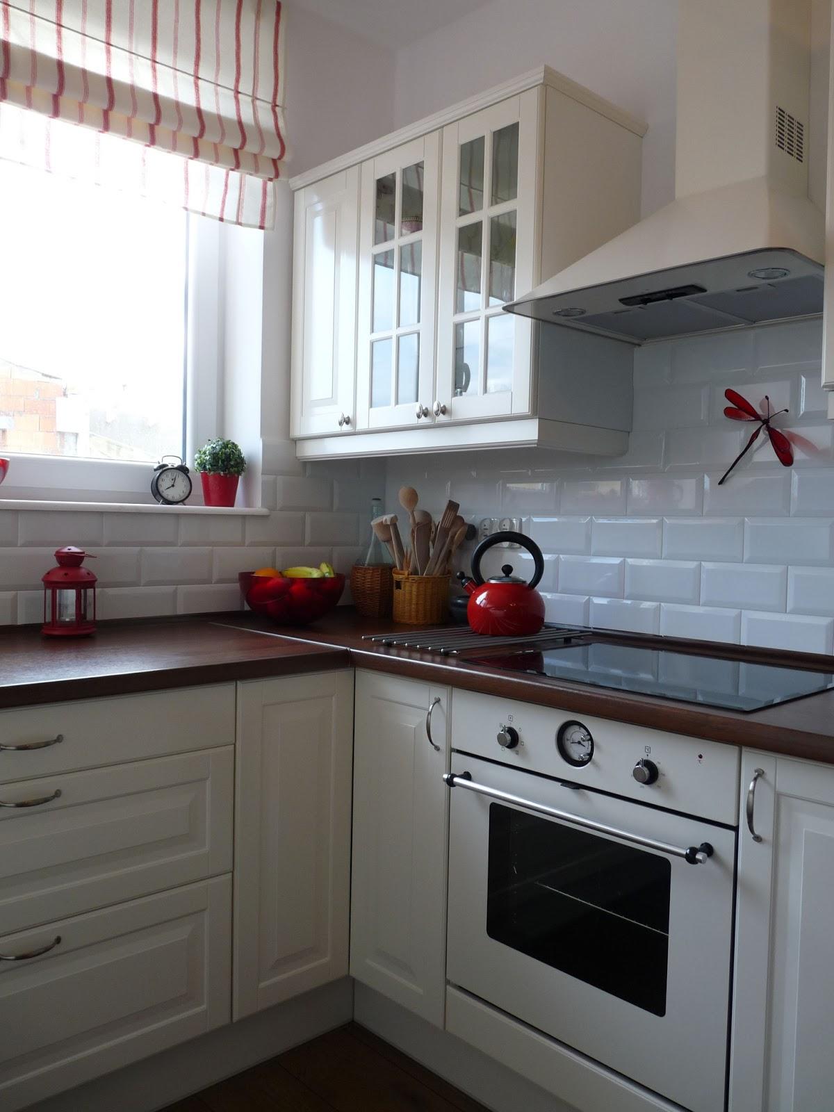 Kalinkowo Moja biała kuchnia z Ike -> Kuchnia Kremowa Ikea