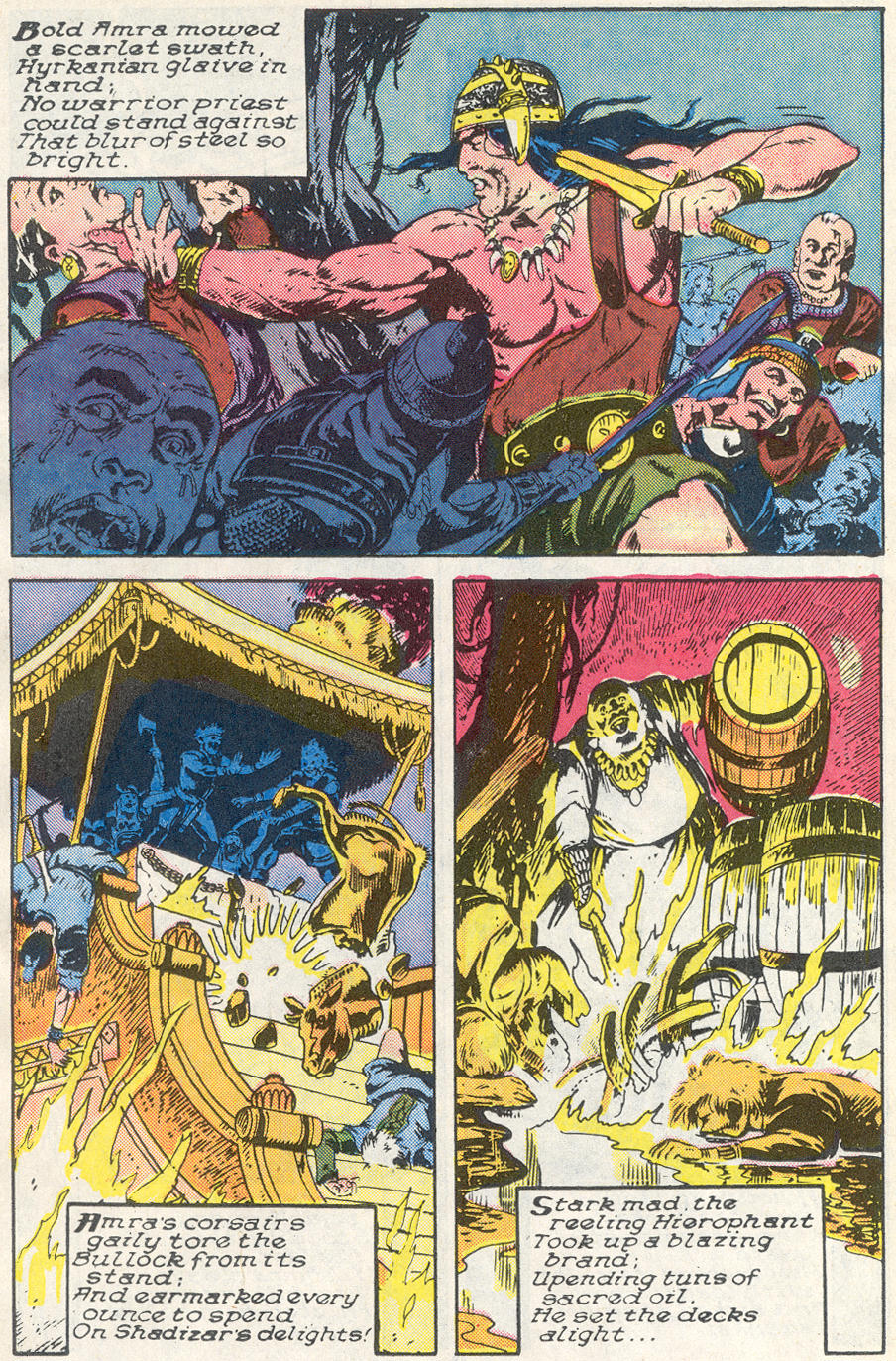Conan the Barbarian (1970) Issue #221 #233 - English 16