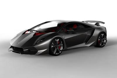 2010 Lamborghini Sesto Elemento Concept in silver