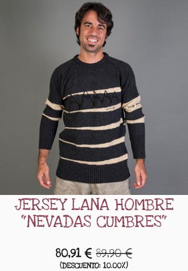 Jersey de lana elaborado en España