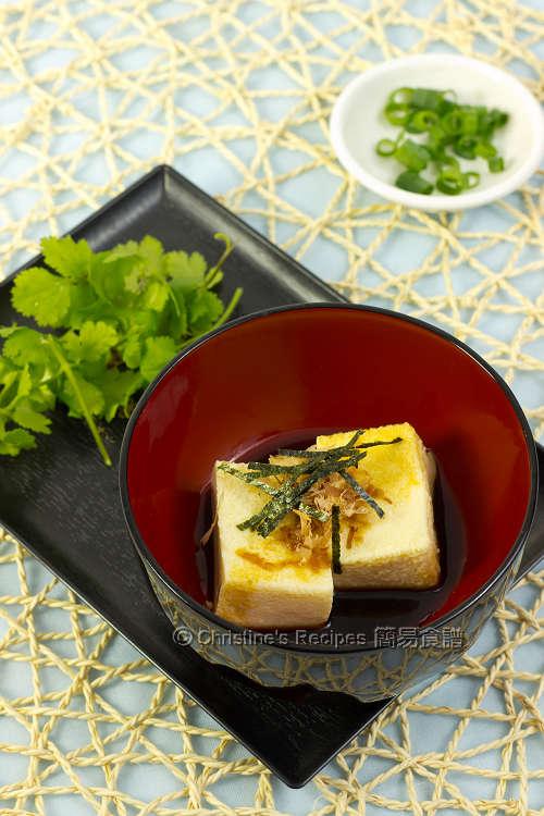 日式豆腐【附超簡易自製豆腐】 Japanese Tofu