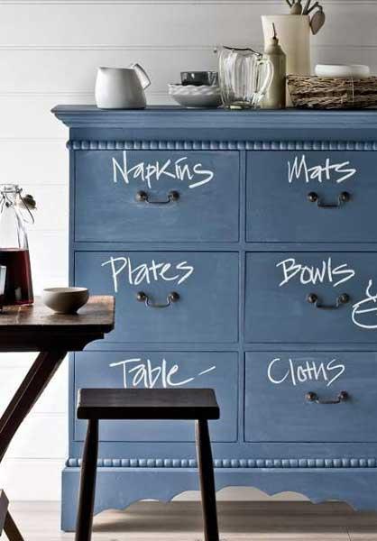 Lavender & Ash: Chalkboard Furniture