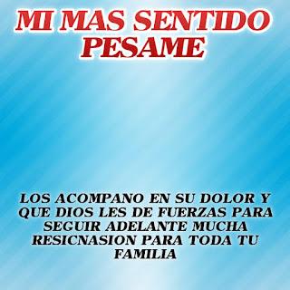 Frases de Pesame