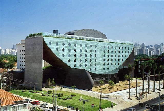 El Hotel Unique - Sao Paulo, Brasil