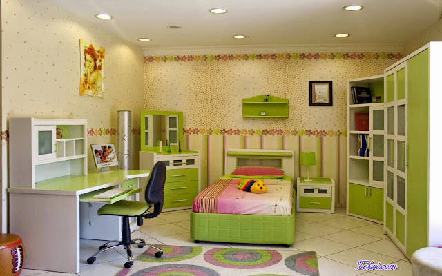 Kids/Children Studying room furniture and interior design