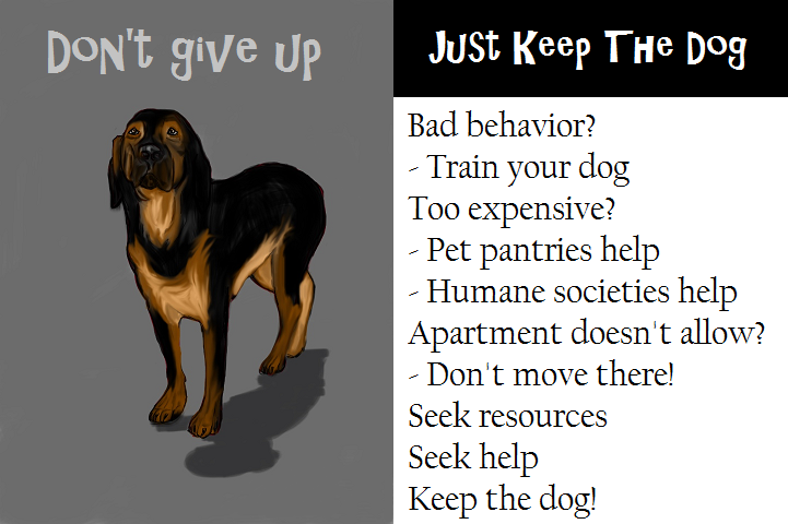 Just Keep The Dog