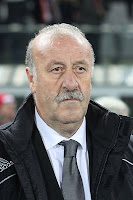 foto vicente del bosque seleccionador espaol