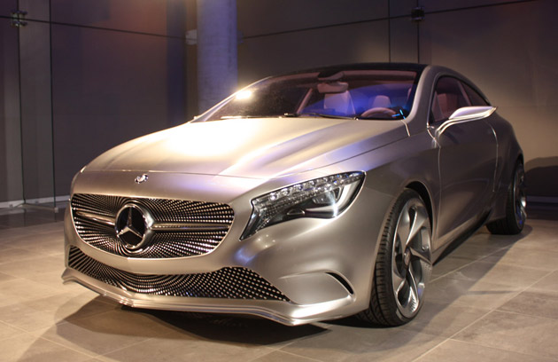 Mercedes benz concept a class latest automotive news for Mercedes benz brand
