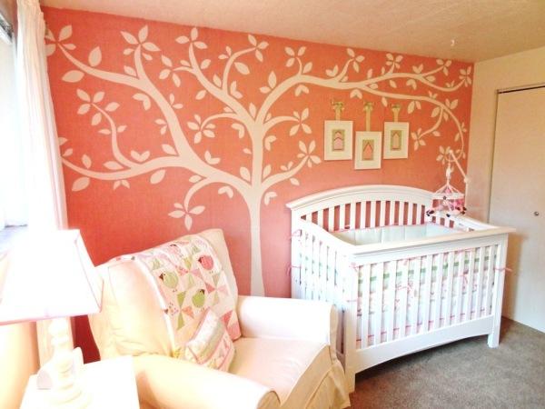 Arte e Decoração Quartos de bebês  meninas