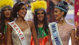 Miss France arrive deuxième du concours Miss Monde 2013