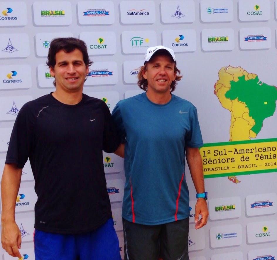SUDAMERICANO ITF SENIORS BRASIL - CRISTIAN SEGNI CAMPEON SUDAMERICANO+40