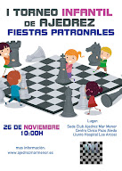 Ajedrez. I Torneo Infantil Fiestas Patronales
