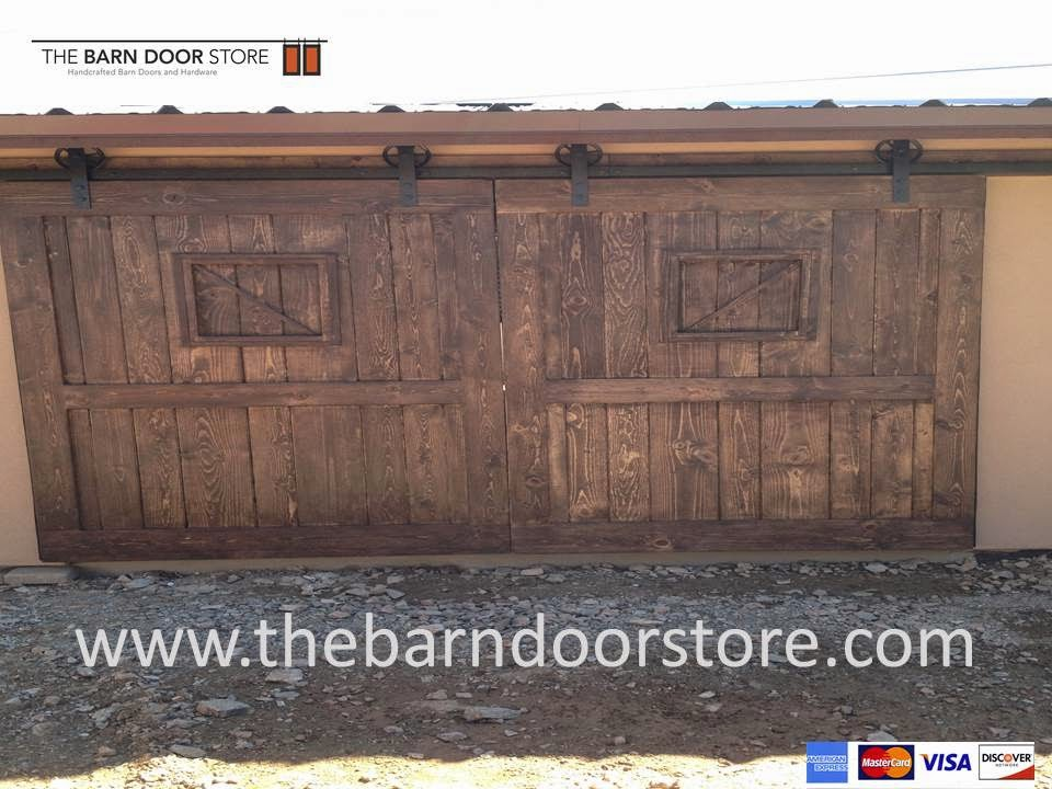 Exterior Barn Doors Too