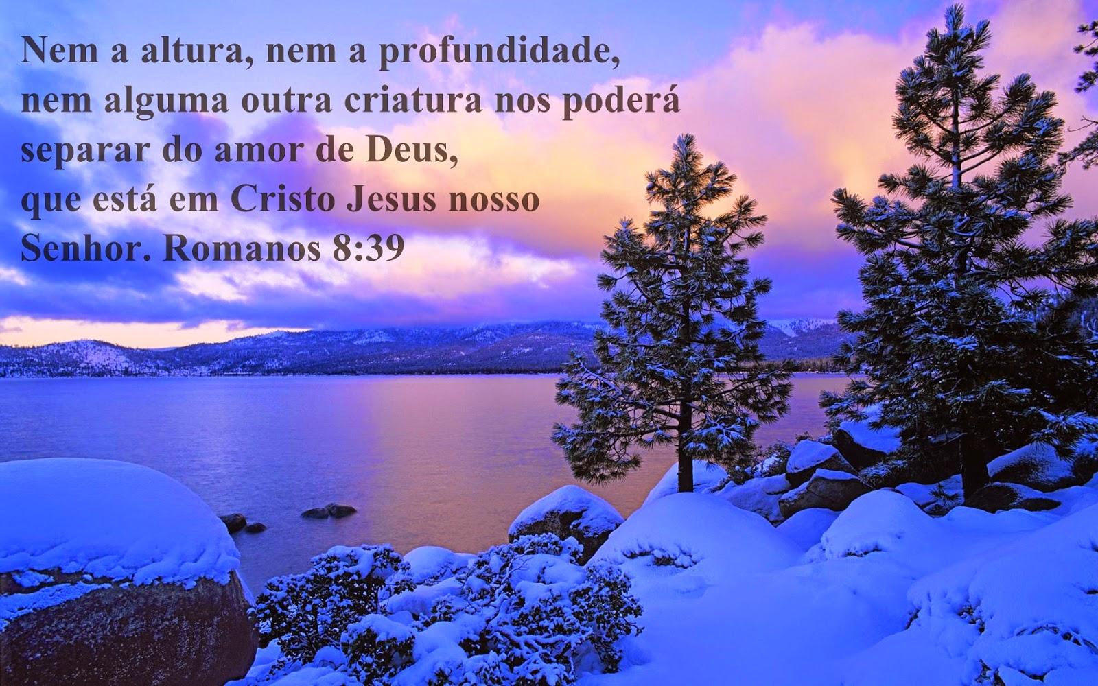 Porque tenho a certeza que nem a morte, nem os anjos, nem os demônios, nem as coisas presentes, nem futuras, nem as potências, nem as alturas, nem as profundidades, nem qualquer outra coisa poderá separar-me de Deus.(A.D.)