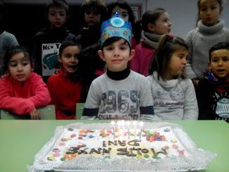 En Dani ja té 6 anys!!