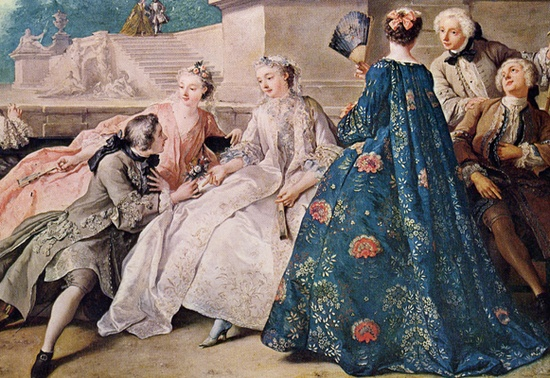 Devilinspired rococo clothing women s clothing in rococo for Rococo period paintings