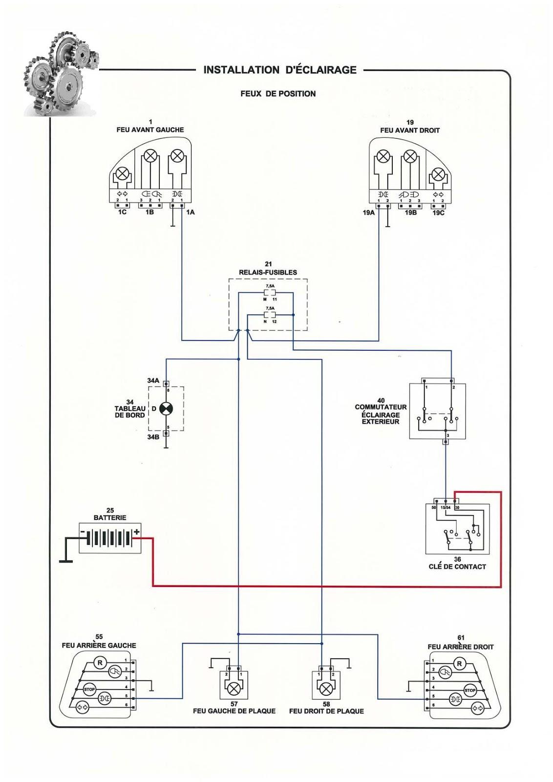 Technologie clairage et signalisation sch ma lectrique - Schema electrique eclairage ...
